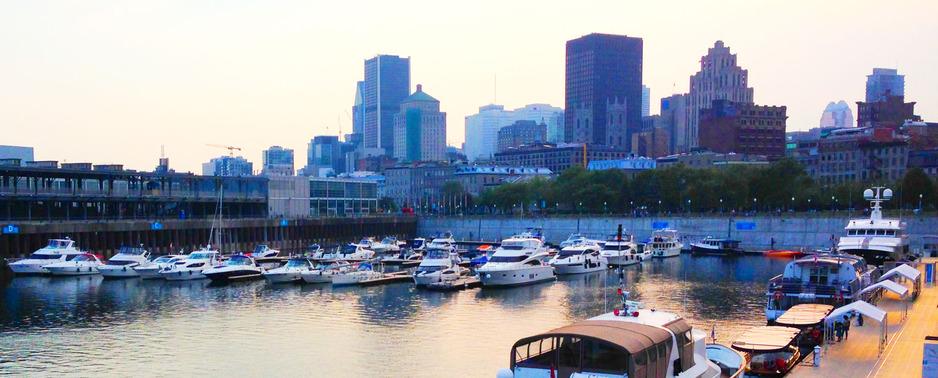 Montreal's Port d'escale du Vieux-Port Marina